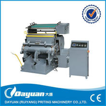 Wenzhou CE standard Hot Foil Stamping & Die Cutting machine TYMB 1040