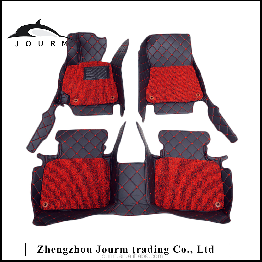 Professional molded custom foot mat car for toyota camry car toyota+camry+accesorios