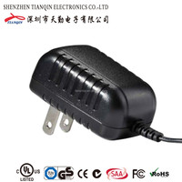 ac dc adapter/power adapter UL/CUL GS CE SAA FCC approved (2 years warranty)