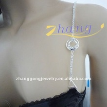 beauty diamond bra strap with pearl