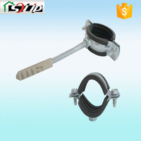 stell rubber galvanized tree clamp