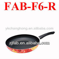 Flower Aluminium non-stick frying pan