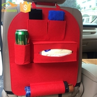 Storage bag organizer Felt Multifunction backseat car organizer