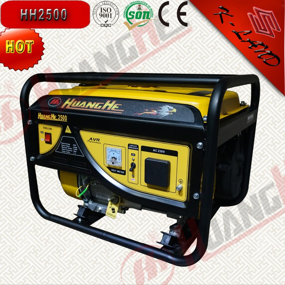 Soundproof hand start 220v 50hz generator