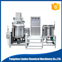 500L vacuum emulsifying mixer for cosmetic