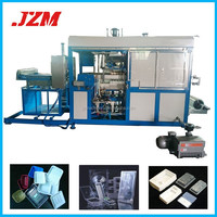 Automatic Plastic expanded vacuum forming machine for food container