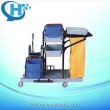 multifunctional cleaning service cart