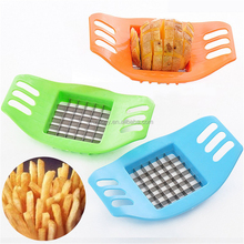 Stainless Steel French Fry Potato Chip Cut Cutter Fruit Slicer Chopper