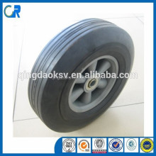 Solid rubber wheel,solid rubber spoke wheel