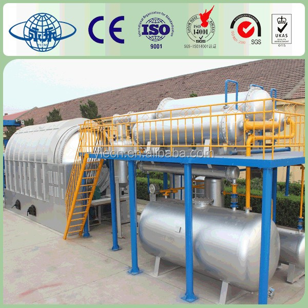 Environmental protection waste recycling plant