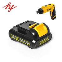 Rechargeable Dewalt cordless drill battery 10.8v/12v 1300mAh/1500mAh/2.0Ah lithium Ion power electrical tools battery
