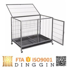 Heavy duty square tube dog kennel