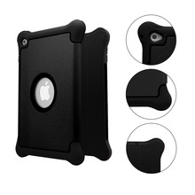 Smart PC+TPU+Leather Case Flip Cover for iPad Mini 1 2 3 4 with Folded Stand Tablets Accessories