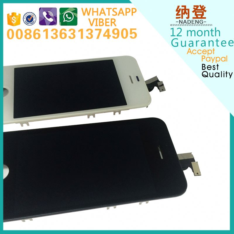 Original LCD Screen Assembly With All Parts for iPhone 4S lcd with digiziter