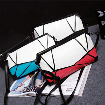 2016 clutch bag women,New fashion ladies PU splicing clutch handbag evening bags
