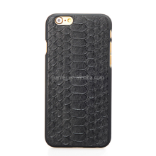 Hot Sales Genuine Python Leather Cellphone Case For Iphone 6 mobile phones case
