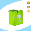 Non-woven Insulation bags with zipper cloesed, custom fabric cooler tote bag with logo