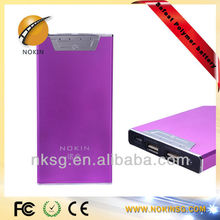 Safest Lithium - polymer Battery Aluminum portable power bank