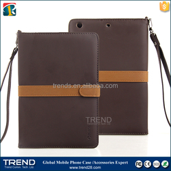 wholesale protective folding flip leather stand case for ipad mini