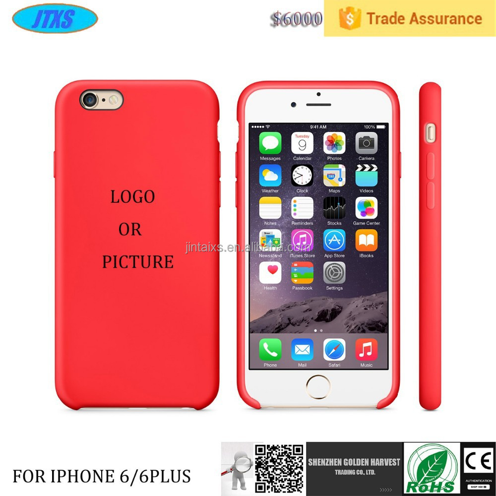 Ultra Slim Silicone Phone Case for Iphone 6 Plus,Soft Silicone Case for Iphone 6