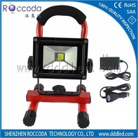 Portable Rechargeable LED Work Light 12V 24V Battery Powered IP65 Waterproof Outdoor 20W 10W 5W Rechargeable LED Flood Light