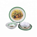 High Quality Houseware Usage Melamine Dinnerware Set