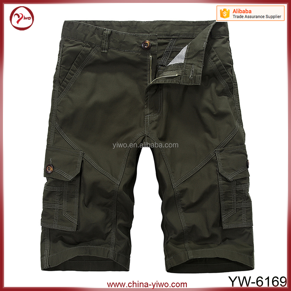 Mens hot sale fashion summer bermudas cargo