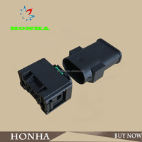 AMP/ Tyco 1-967360-1 Car 6 Pin male and female Connector plug for BMW Mercedes-Benz 1-967616-1