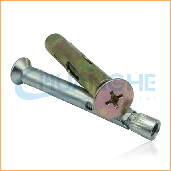 China supplier Stainless Steel 304 Type Expansion Sleeve Hex Nut Concrete Anchor Bolt