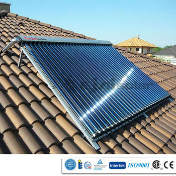 Solar water heater parts, Solar collector