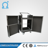 Strong loading capacity custom size and colour flight case parts