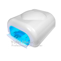 Good quality new nail art gel machine top heart finger uv nail dryer 36watt