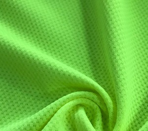 Knitted Textile for sportswear tshirt swimwear garment cloth spandex mesh dobby 100%polyester different types of fabric