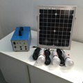 for rural area portable home solar power system