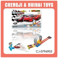 36pcs alloy mini playset toy child toy racing track wholesale orbit toy for age 3+