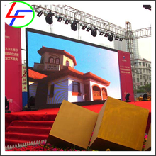 background led screen mesh p6 Outdoor rental video wall