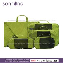 custom all kinds of packing cubes/Travel Cube Organizer folding travel bag