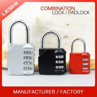 Alibaba Gold Supplier Hardened Shackle Safety Padlock with Combination
