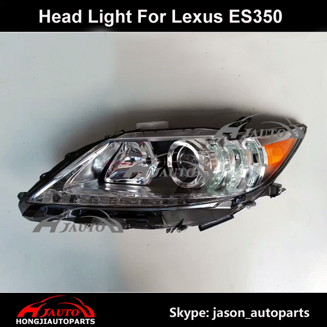 Auto Lamp For Lexus ES350 Front Head Lights Assembly with Motor HID