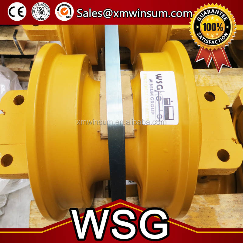 Bulldozer undercarriage parts D41P-6 track roller bottom roller lower roller assembly