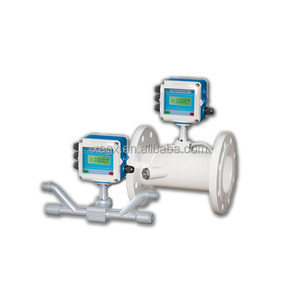 Fixed mini steam ultrasonic flow meter portable