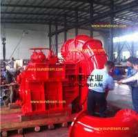 WN heavy duty sand suction dredger pump for river