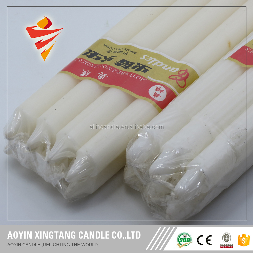 household white candles for sale