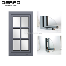 Europe Style Aluminium Faced Timber Windows