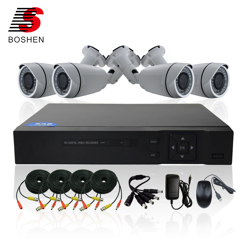 Top 10 Professional Completed Customer Design Smart Video Surveillance HD IR Long Range Night Vision Bullet CCTV Camera System