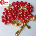 Weeding gifts wholesale religious catholic 6mm rosaries bead chain