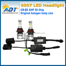 2x XHP50 Chips 9007 hb4 6000lm xhp50 led headlight for f30 white color