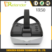 3D VR50 Headset Virtual Reality Box with Adjustable Lens and Strap for smartphones