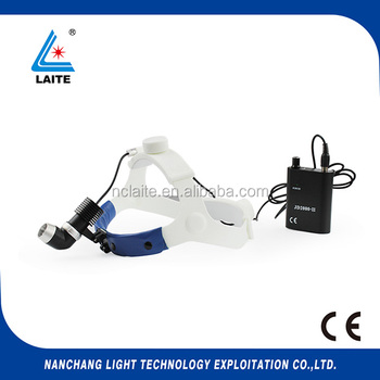Rechargeable medical headlamp high intensity JD2000III 7w/10w