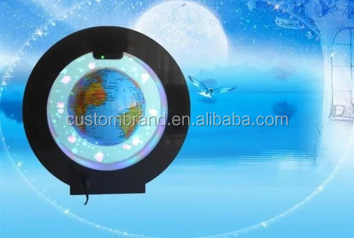 China wholesales magnetic globe levitating and rotating globe